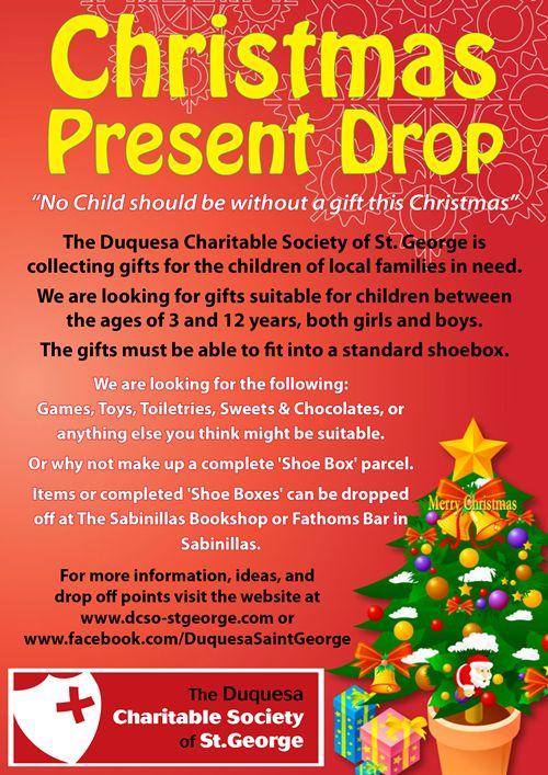 Christmas Present Drop poster