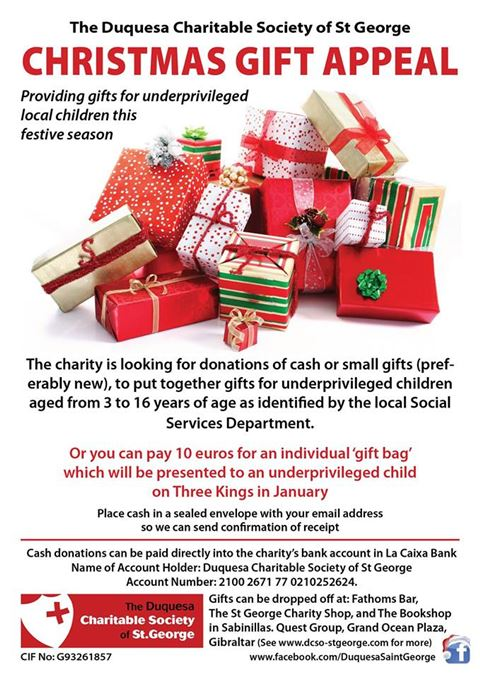 Christmas Gift Appeal poster