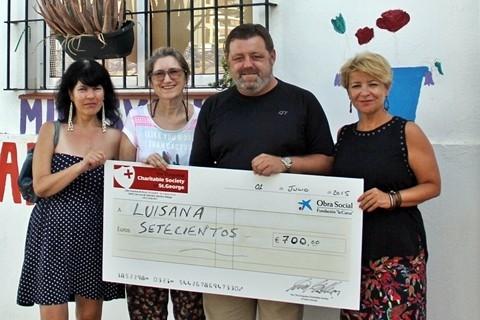 Luisana cheque 2015
