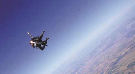 Brian's HALO jump