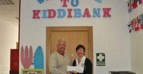 Kiddibank donation