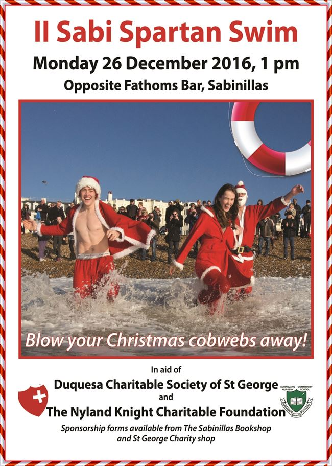 Boxing Day Swim poster