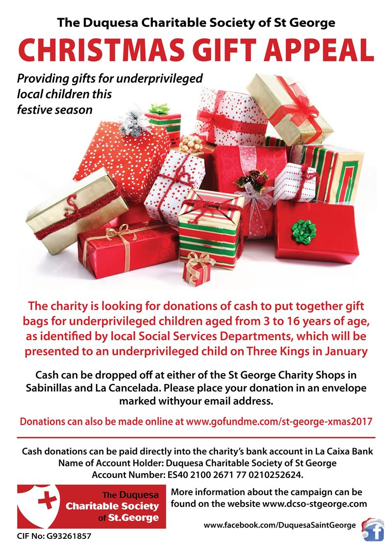 St George Charity launches the 2017 Christmas Gift Appeal