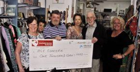 Age Concern donation 2017