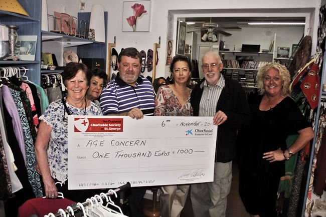Age Concern donation 2017