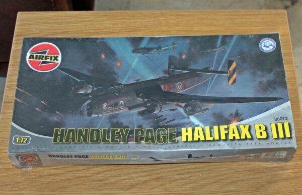 Airfix Handley Page Halifax B-III 1-72